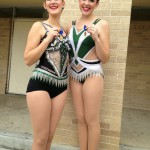 UIL Contest 2014 - Feature Twirlers Margo and Shae