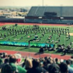 2014 UIL Area Marching Competition