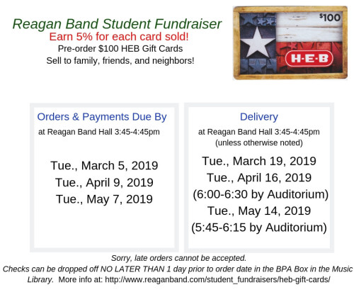 HEB Gift Card Fundraiser2