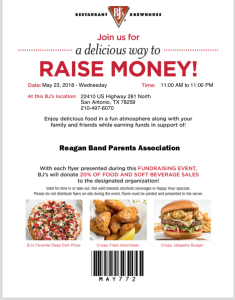 BJ's Restaurant_Benefit Night_May 23