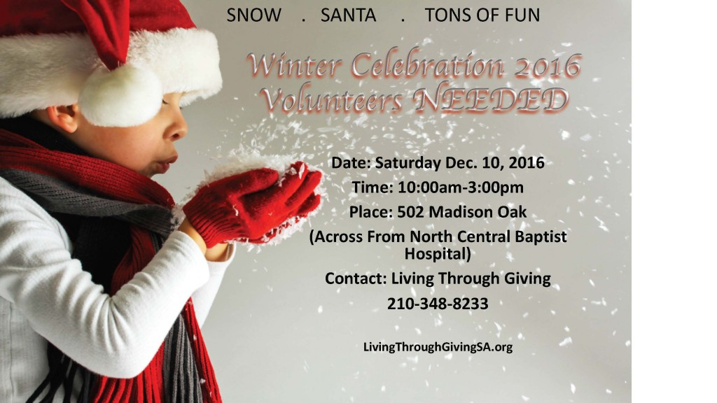Call for Volunteers_Winter Celebration