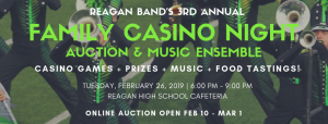 Casino Night Event 2019