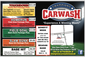 Champions Car Wash_Benefit Night_2018