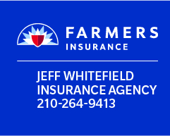 Jeffrey Whitefield – Farmers Insurance logo