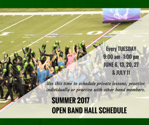Open Band Hall Schedule_2017