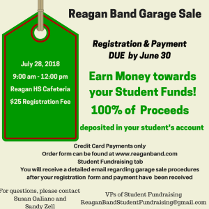 Reagan Band Garage Sale 2018 (2)