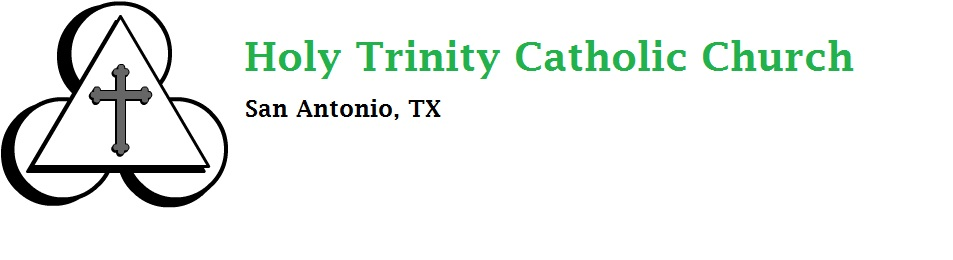 Holy Trinity Catholic Church logo